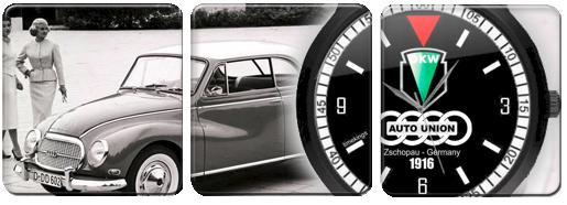 Dkw Auto Union Logo Wrist Watches