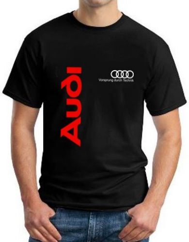 audi logo t shirt black. Black Bedroom Furniture Sets. Home Design Ideas