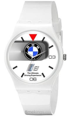 Bmw I8 Logo Ladies Silicone Watch