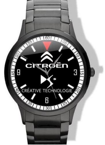 Citroen DS5 Logo Black Steel Watch