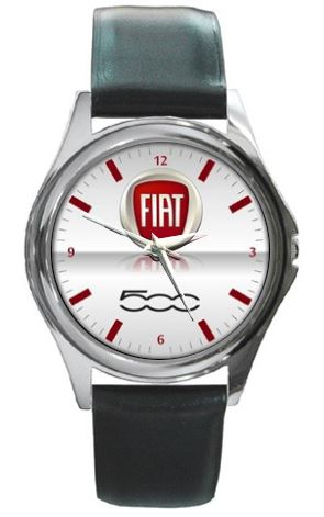 Fiat 500 Leather Watch