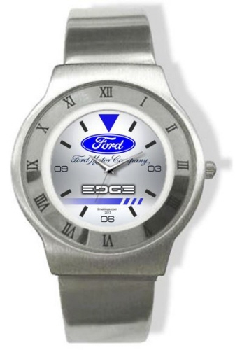Ford Edge Logo Steel Watch More Images