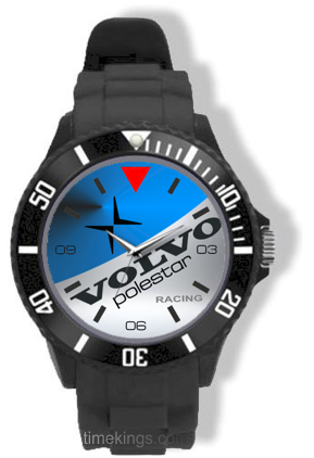Weight Of Time >> Volvo Polestar Logo Silicone Watch